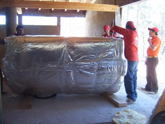Proceso de construcción: Hotel Ecotécnico en Durango